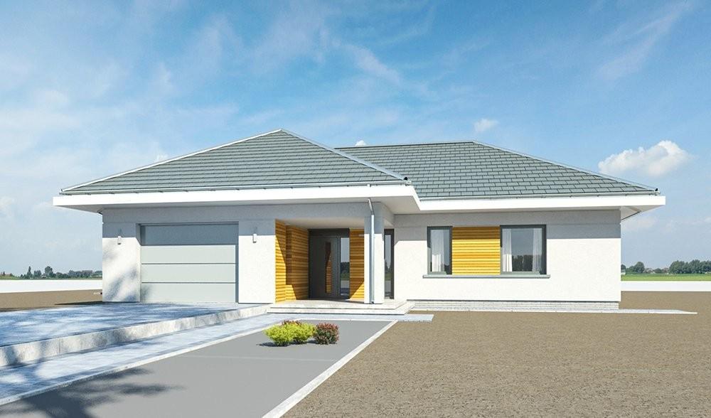 Projekt domu Parterowy - wizualizacja