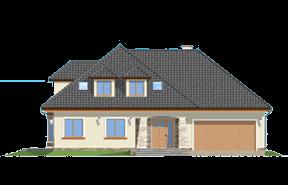 Projekt domu Agnieszka 2 wariant C - Olej