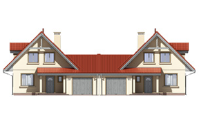 Projekt domu Alicja wariant B
