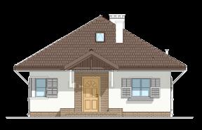 Projekt domu Ambrozja wariant B