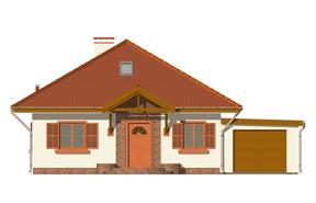 Projekt domu Ambrozja wariant C