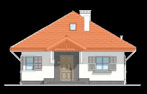 Projekt domu Ambrozja wariant D