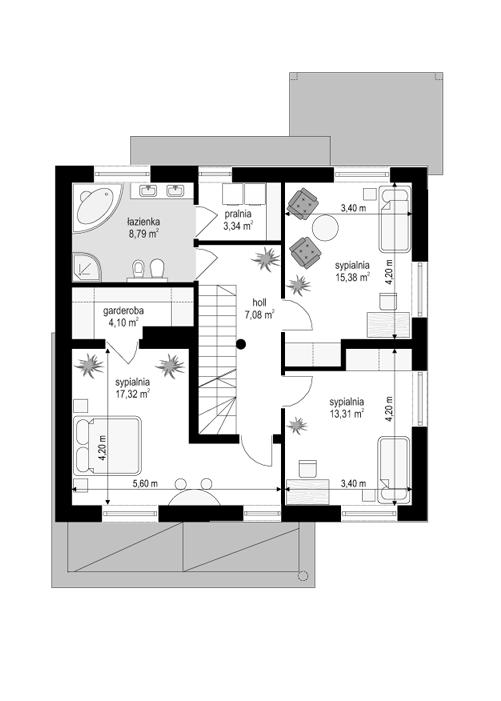 Artemida - rzut piętra