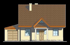 Projekt domu Bajkowy wariant B