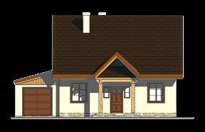 Projekt domu Bajkowy wariant D