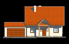 Projekt domu Bajkowy wariant E