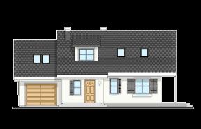 Projekt domu Bryza 4 wariant B