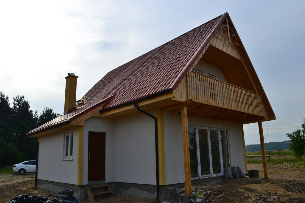 Realizacja domu Chatka drewniana