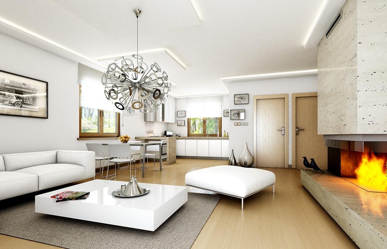 Wnętrze domu Jak marzenie odbicie lustrzane