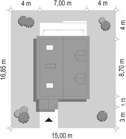 D03 Grześ drewniany - sytuacja odbicie lustrzane