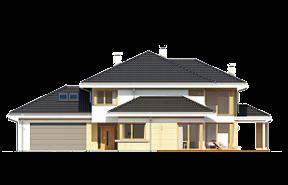 Dom z widokiem 3 wariant G wizualizacja lustrzane odbicie