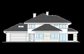 Dom z widokiem 3 wariant J odbicie lustrzane