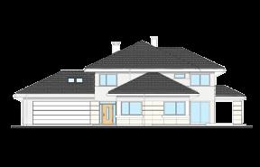 Dom z widokiem 3 wariant L odbicie lustrzane