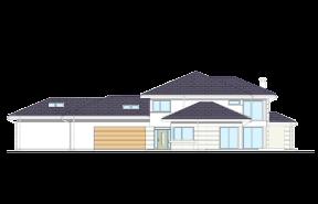 Dom z widokiem 3 wariant M odbicie lustrzane