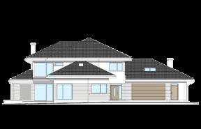 Dom z widokiem 4 wariant B odbicie lustrzane