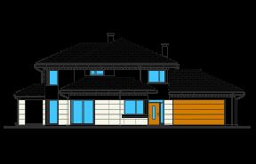 Dom z widokiem 5 wariant B odbicie lustrzane