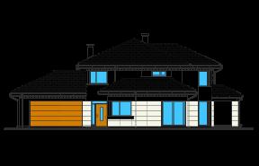 Dom z widokiem 5 wariant B