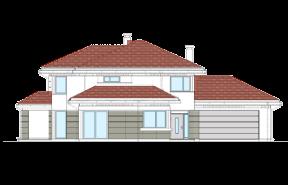 Dom z widokiem 5 wariant C odbicie lustrzane