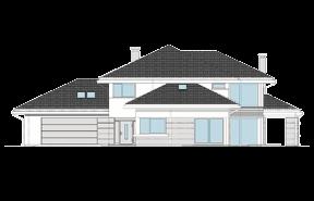 Dom z widokiem wariant G odbicie lustrzane