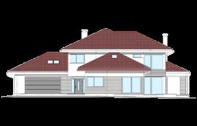 Dom z widokiem wariant N odbicie lustrzane