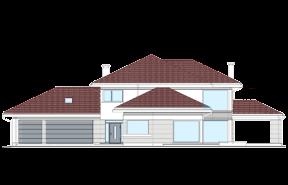 Dom z widokiem wariant  P odbicie lustrzane