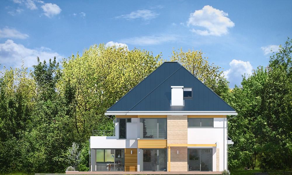 Dom z widokiem 2 C - elewacje