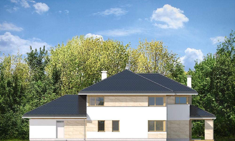 Dom z widokiem B - elewacje