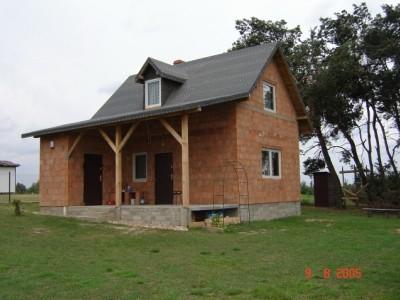 Realizacja domu Francik z tarasem