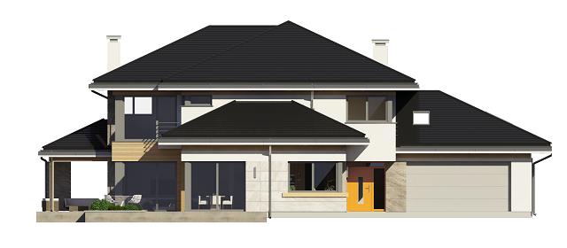 Dom z widokiem 2 - odbicie lustrzane