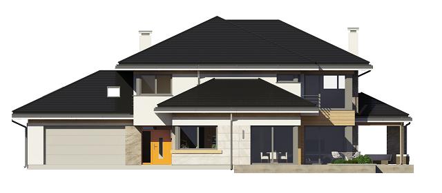 Dom z widokiem 2 - elewacja