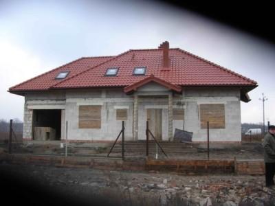 Realizacja domu Gargamel z garażem