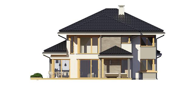 Dom z widokiem 3 - odbicie lustrzane