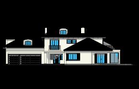 Malibu wariant B wizualizacja lustrzane odbicie
