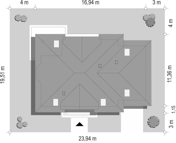 Ofelia 2 - sytuacja odbicie lustrzane
