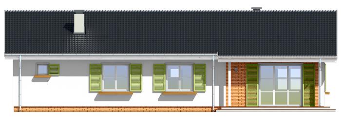 Słoneczny z garażem 2 - elewacje