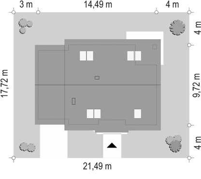 Optymalny 2 - sytuacja odbicie lustrzane