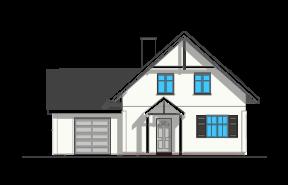 Pierwszy dom 3 wariant D - odbicie lustrzane
