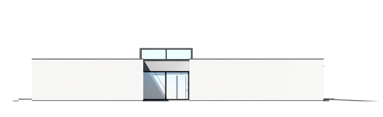 Willa atrium - odbicie lustrzane