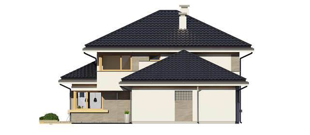 Dom z widokiem 3 - elewacja