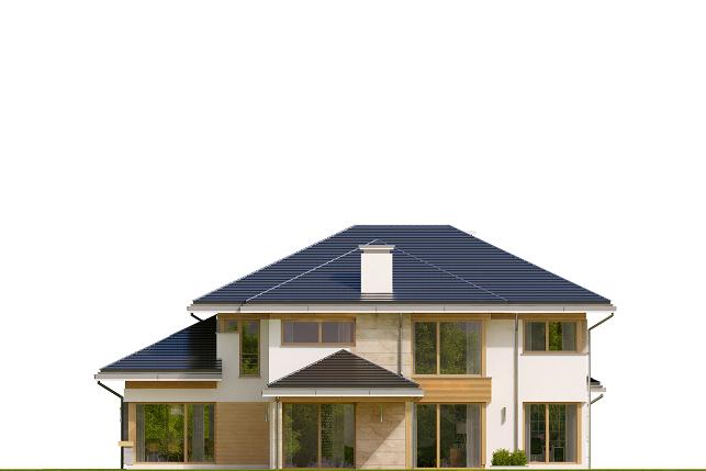 Dom z widokiem 4 - elewacja