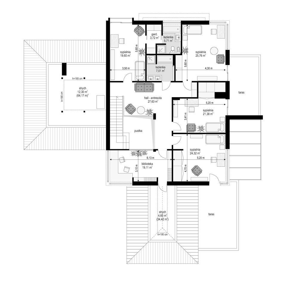 Prestiżowy - rzut piętra
