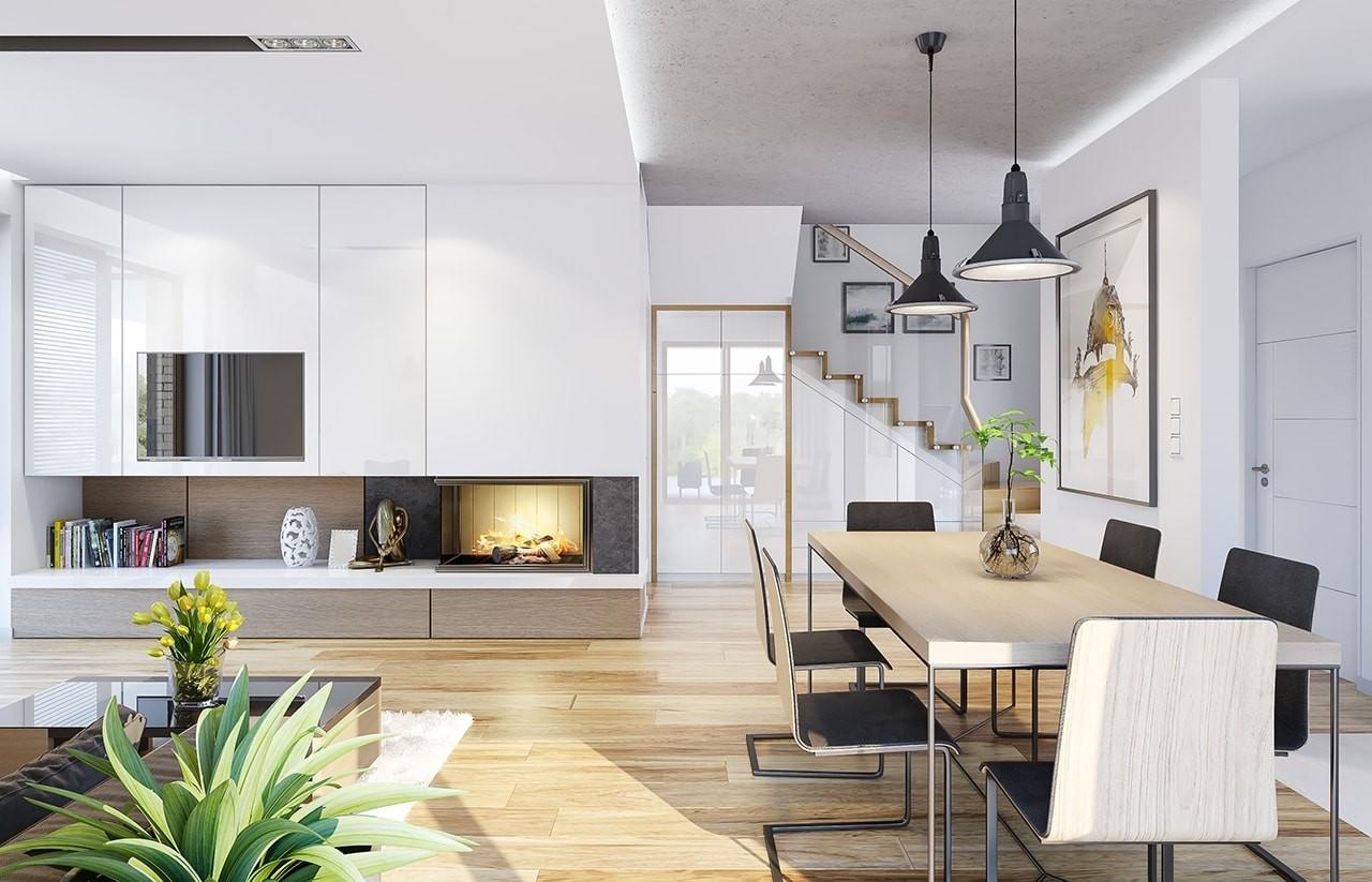 Projekt domu Albatros 2 - wnętrza