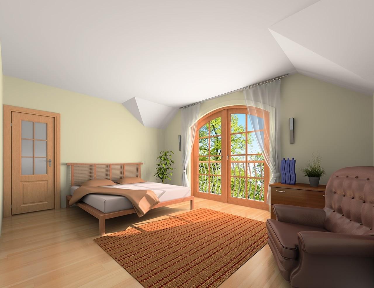 Projekt domu Benedykt 5 odbicie lustrzane
