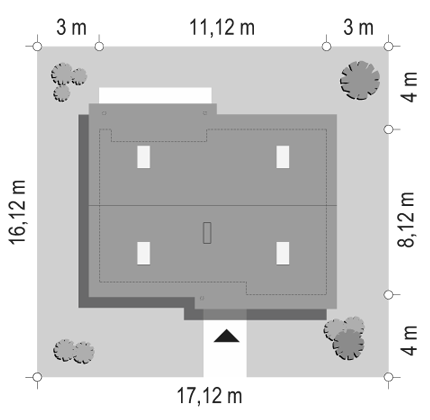 Biedronka 2 - sytuacja odbicie lustrzane