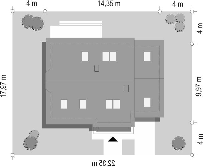 Bryza 5 (NF40) - sytuacja odbicie lustrzane