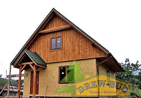 Realizacja domu D03 Grześ Drewniany