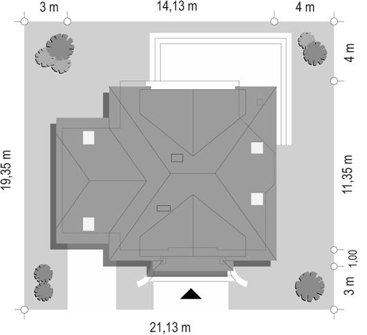 Dom na medal 2 - sytuacja odbicie lustrzane