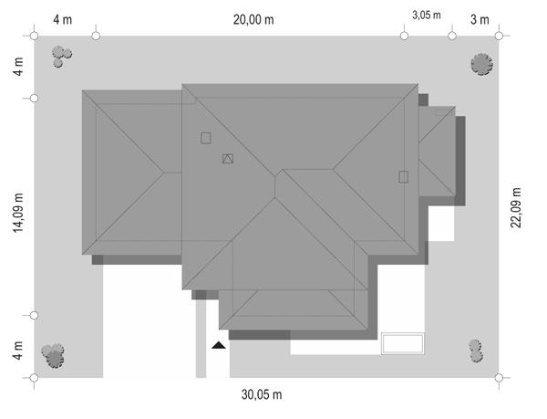 Dom z widokiem 2 - sytuacja