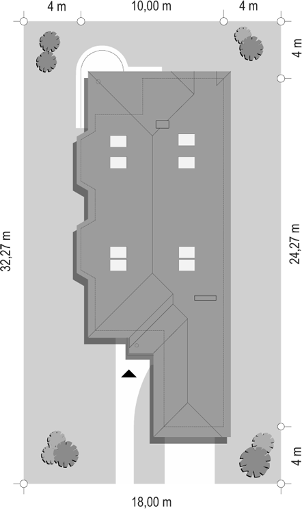 Jamnik 3 - sytuacja odbicie lustrzane