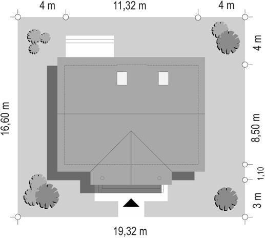 Miodowe Lata - sytuacja odbicie lustrzane